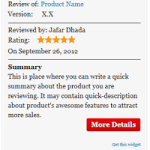 Author hReview for Blogger