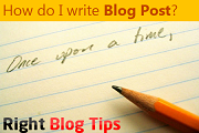 How Do I Write a Blog Post
