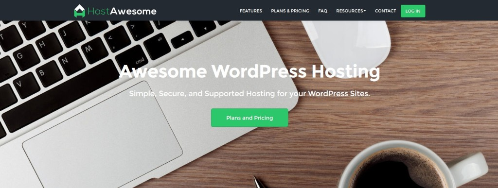 HostAwesome WordPress Hosting