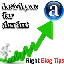 How to Improve Alexa Site Ranking