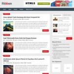 free wordpress themes - ribbon