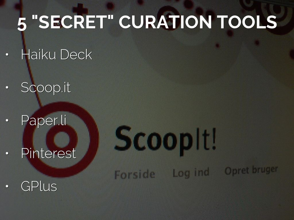 5 Secret Content Curation Tools