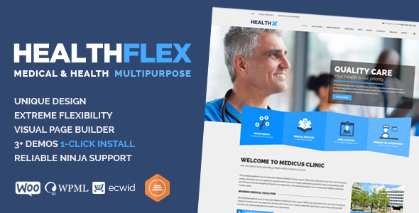 Health WordPress Themes: HealthFlex
