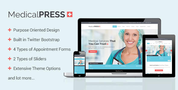 Health WordPress Themes: MedicalPress