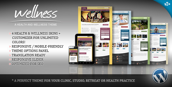 Health WordPress Themes: Wellness