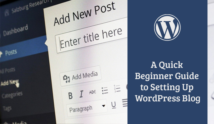 setting up a wordpress blog
