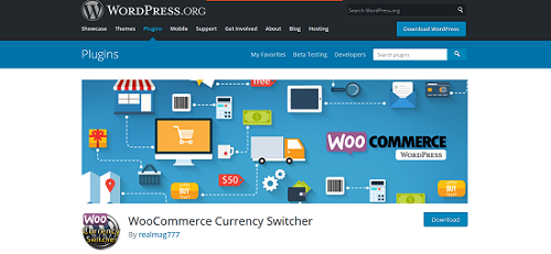 WooCommerce plugin- WooCommerce Currency Switcher