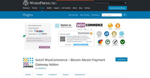 WooCommerce plugins- GoUrl WooCommerc