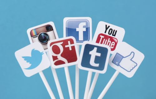 be creative with social media