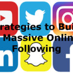 build massive online following