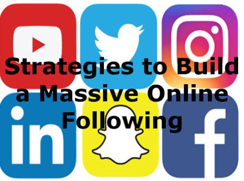 build online following