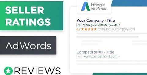 google seller ratings