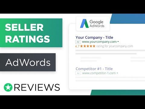 google seller ratings
