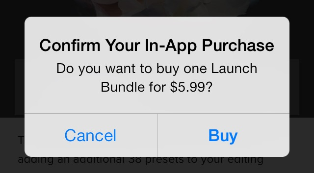 In-app Purchases (IAP)